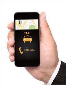 콜택시의 업그레이드 버전, 우버 택시(사진)
